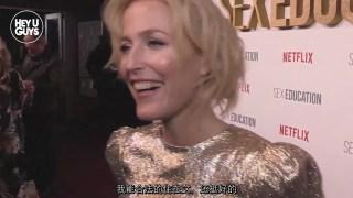 【中文字幕】SE2伦敦首映礼采访 Gillian Anderson(8 Jan 2020)