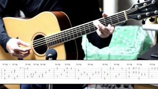 《天空之城》 木吉他独奏(附谱)