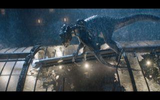 【侏罗纪世界2 蓝光1080P】暴虐迅猛龙和人类的战斗