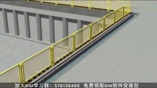 湖南四建工程项目:BIM模拟基坑支护动画交底