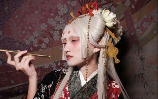 【阿蕾X蚊葱】和风脑洞——艺妓白涂妆面