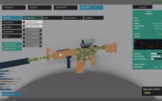 【久量解说】ROBLOX幻影小队  M4A1和AK12屠杀全场 EP26