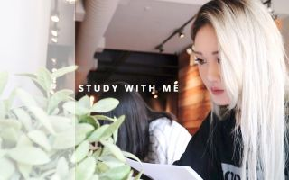STUDY WITH ME [WITH MUSIC] AT A CAFE  - Sarang