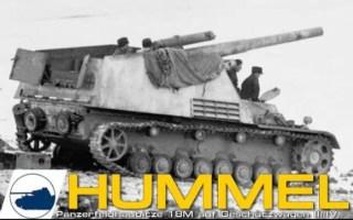 """【二战德国】""""野蜂""""150毫米自行榴弹炮 历史影像Hummel Panzerfeldhaubitze 18M auf Geschützwagen III/IV"""