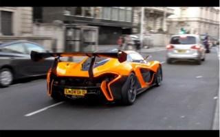 【街拍】伦敦超跑街拍Mclaren P1 LM 、GTR