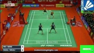 郑思维/黄雅琼VS费泽尔/维德佳佳 2020印尼大师赛 混双1/16决赛