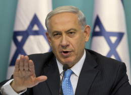 Israeli Prime Minister Benjamin Netanyahu gestures as he speaks during a press conference at the prime minister's office in Jerusalem, Wednesday, Aug. 27, 2014.  Israel's prime minister declared victory Wednesday in the recent war against Hamas in the Gaza Strip, saying the military campaign had dealt a heavy blow and a cease-fire deal gave no concessions to the Islamic militant group.(AP Photo/Sebastian Scheiner)