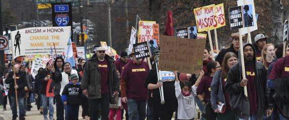REDSKINS PROTEST