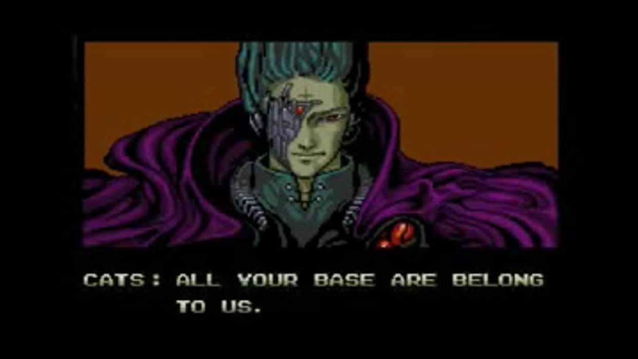 Image result for all your base are belong to us