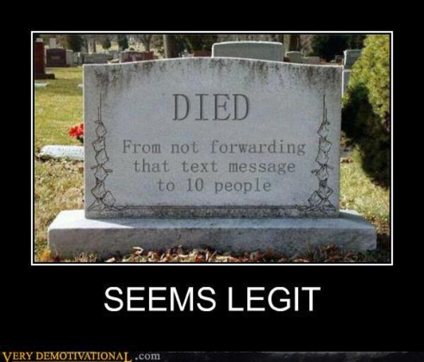 Do Not Send Chain Letters