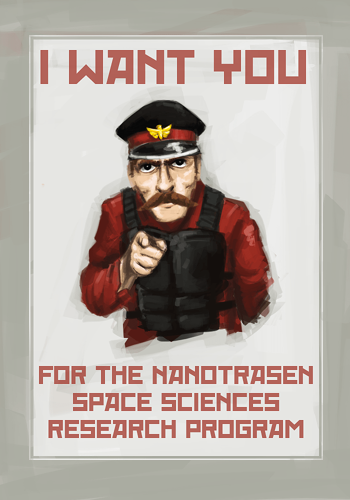 Motivational Recruitment Poster Space Station 13 Know