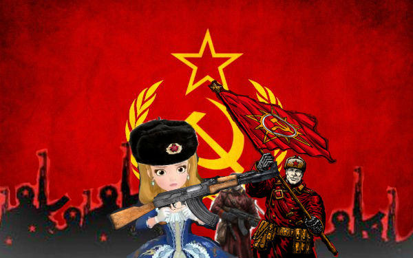 Princess Amber And Soviet Union In Soviet Russia