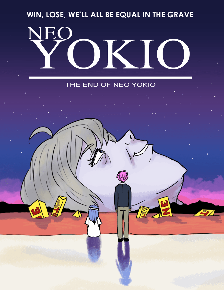 The End Of Neo Yokio The End Of Evangelion Know Your Meme