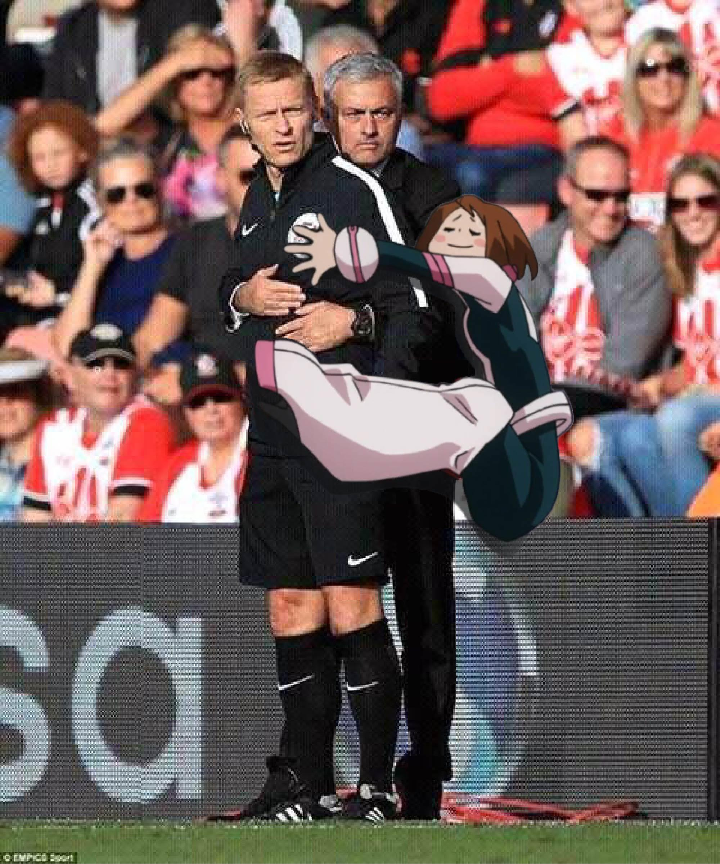 Hugaraka Meets Jose Mourinho My Hero Academia Know