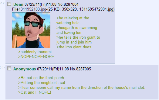 Image 155678 Green Text Stories Know Your Meme