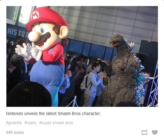 Ridley Is Too Big Godzilla Isnt Super Smash Brothers