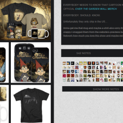 official over the garden wall merchandise over the garden - Over The Garden Wall Merchandise