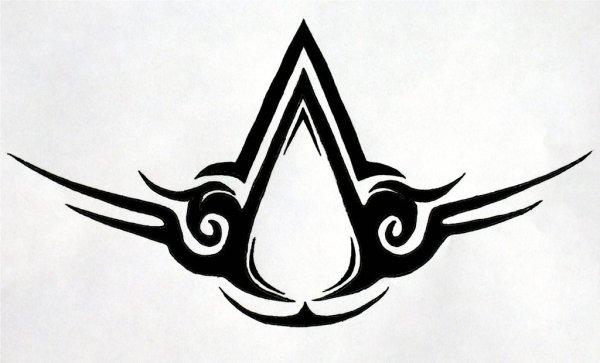 Tribal Assassin's Creed Logo | Assassin's Creed Logo ...