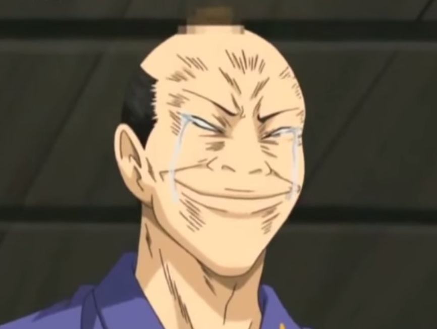 The Shoguns New Mage Hairstyle Gintama Know Your Meme