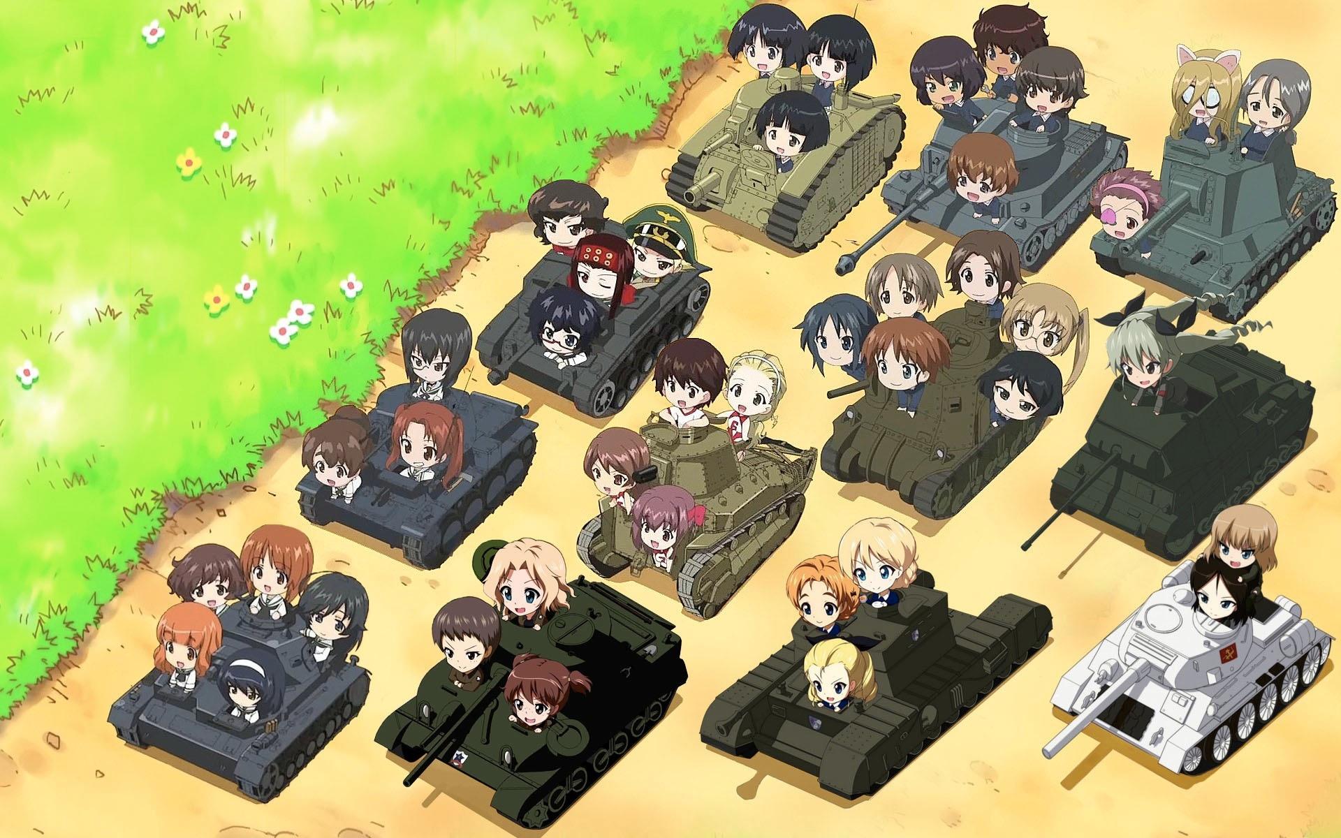 Image result for girls und panzer