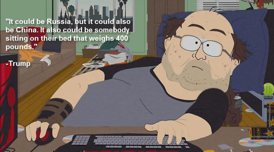 Image result for 400 pound hacker meme