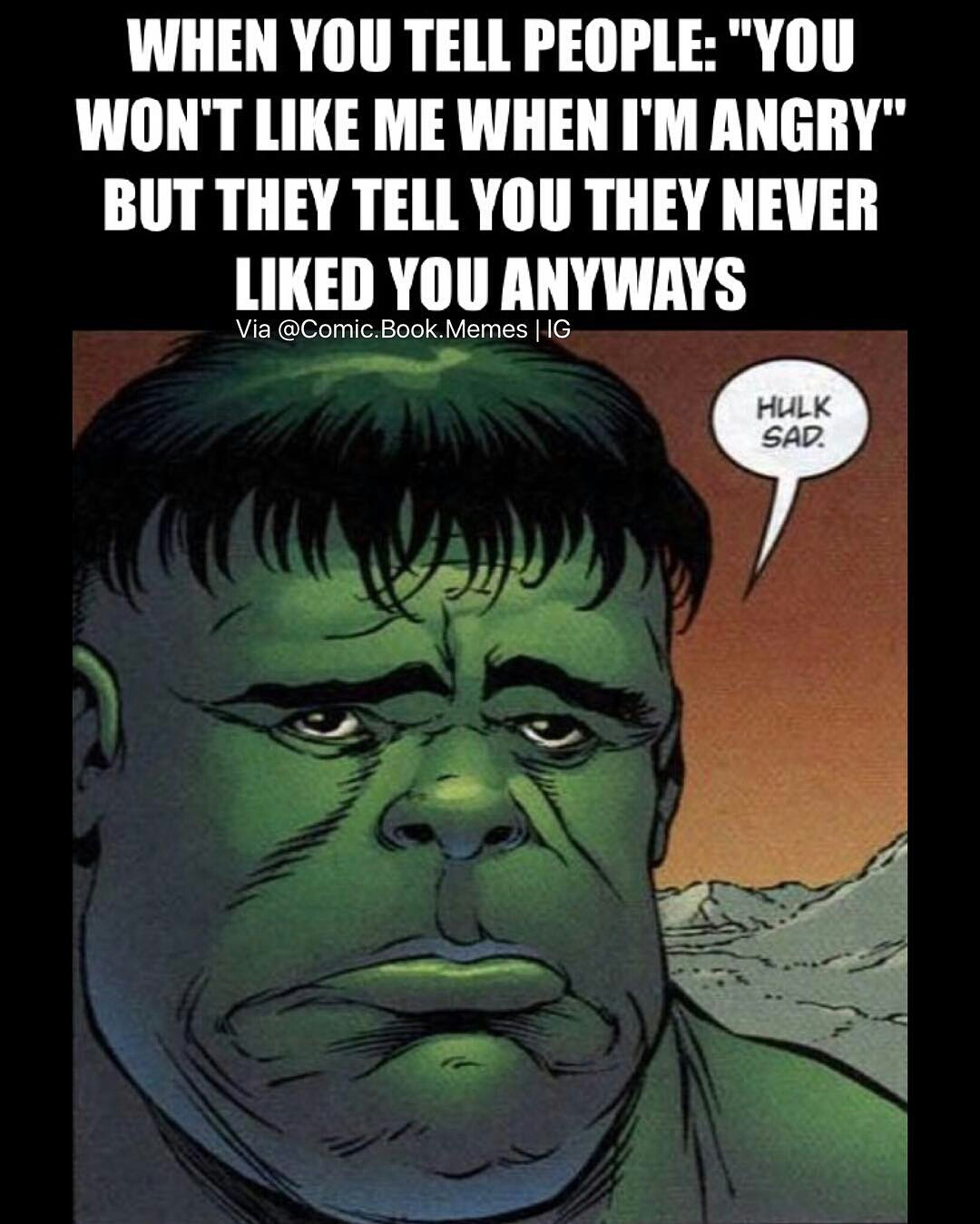 Image result for sad hulk