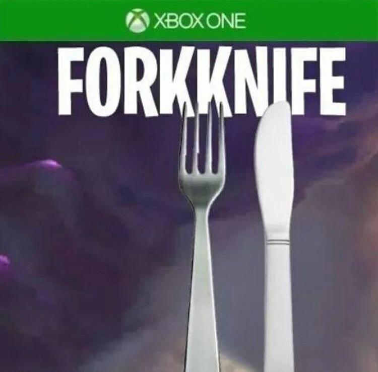 Image result for fork knife meme