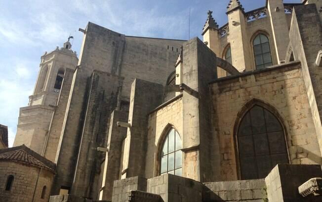 Catedral de Girona foi um dos cenários usados para reproduzir King's Landing na sexta temporada da série 'Game of Thrones'