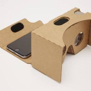 Com ajuda de um app e de kit de papelão, o Cardboard transforma seu telefone celular em uma experiência de realidade virtual