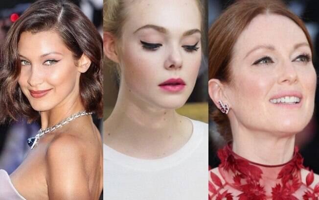 Foram vistas no tapete vermelho do Festival de Cannes celebridades como Julianne Moore%2C Elle Fanning e Bella Hadid