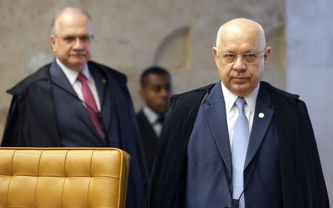 Ministro Edson Fachin (ao fundo) pretende substituir Teori Zavascki na Segunda Turma do STF