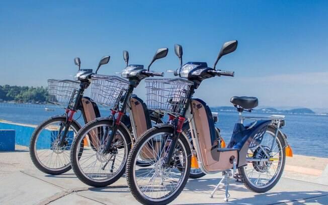 bicicleta, elétrica, bike