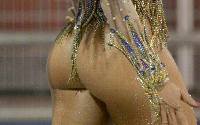 Bumbum no carnaval 2015. Foto: AgNews