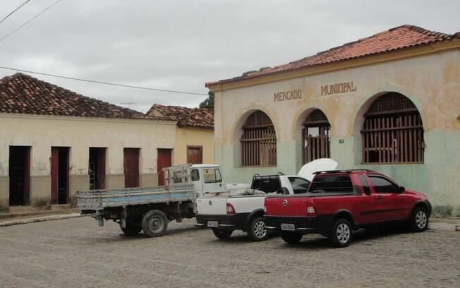 Vista do Mercado Municipal de Itinga. Foto: Ricardo Galhardo