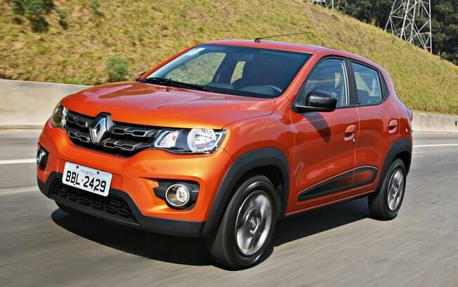 Renault Kwid laranja