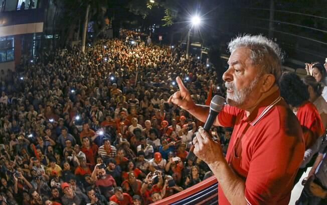 Lula em manifestação em abril de 2016 - Foto: Ricardo Stuckert/ Instituto Lula