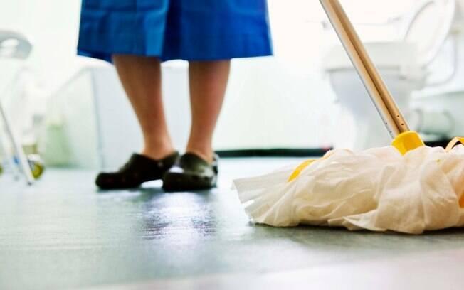 Primeiro passo é a limpeza