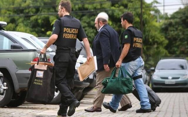 Presidente da construtora UTC, Ricardo Pessoa, é preso pela PF em 14 de novembro de 2014. Foto: Futura Press