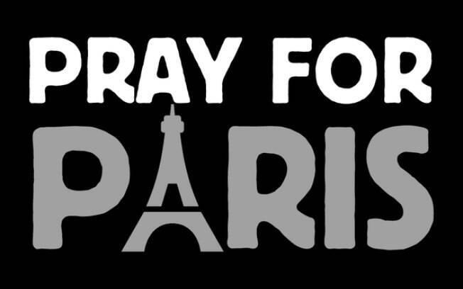 Hashtag em apoio às vítimas dos atentados na capital francesa começa a se difundir pelas redes
