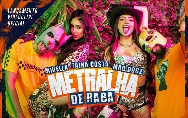 Mesmo confinada%2C MC Mirella lança nova música