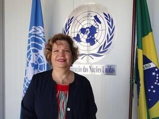 Nadine Gasman, da ONU Mulheres no Brasil