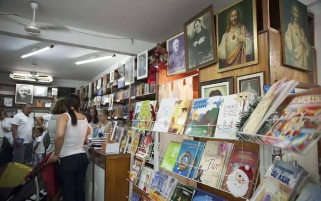 Livraria do Lar de Frei Luiz. Foto: Selmy Yassuda