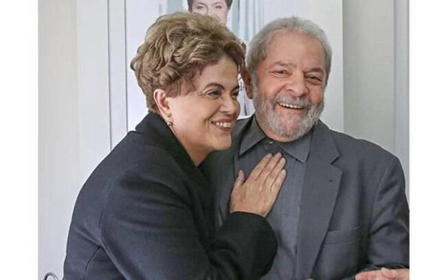 Dilma e Lula: para ex-presidente,  sucessora
