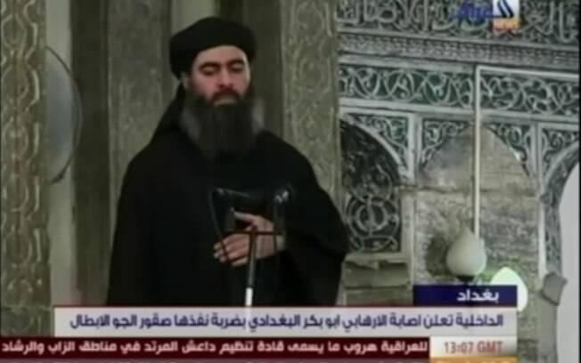 Líder e califa do Estado Islâmico (EI), Abu Bakr al-Baghdadi . Foto: Reprodução/The Guardian (21.04.15)