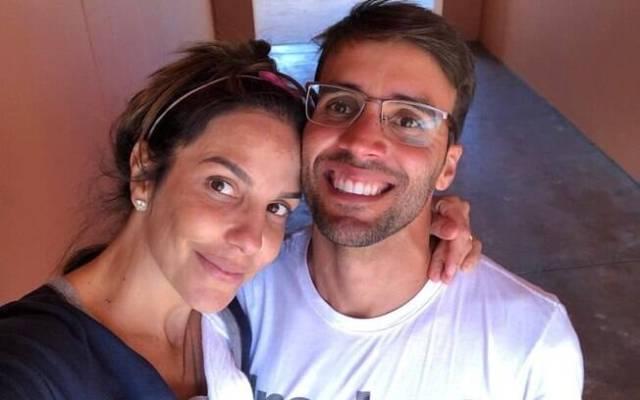 Ivete Sangalo e Daniel Cady comemoram saída de Helena do hospital
