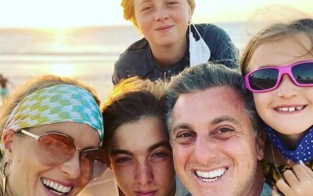 luciano huck e família