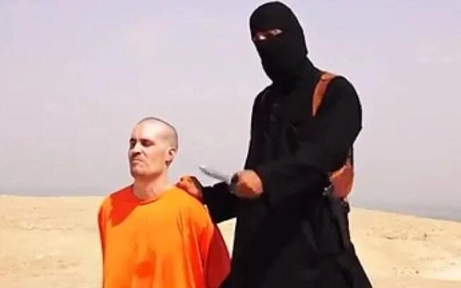 Insurgentes do grupo jihadista Estado Islâmico divulgaram a decapitação do jornalista americano James Foley em 19 de agosto de 2014. Foto: Reprodução/Youtube