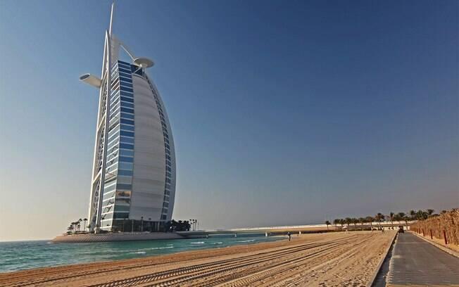 Burj Al Arab é o hotel mais luxuoso do mundo