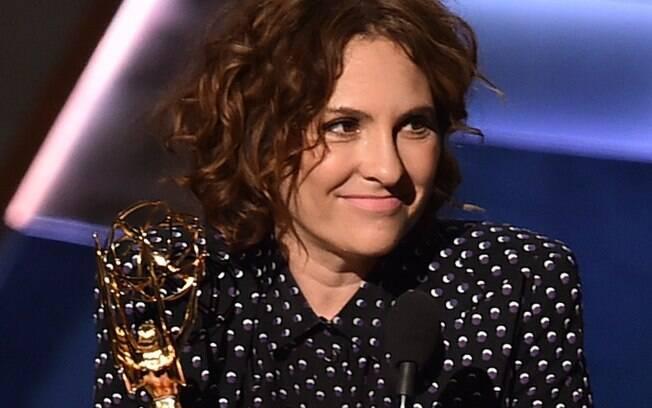 """Jill Soloway foi melhor direção de comédia por """"Transparent"""". Foto: Getty Images"""
