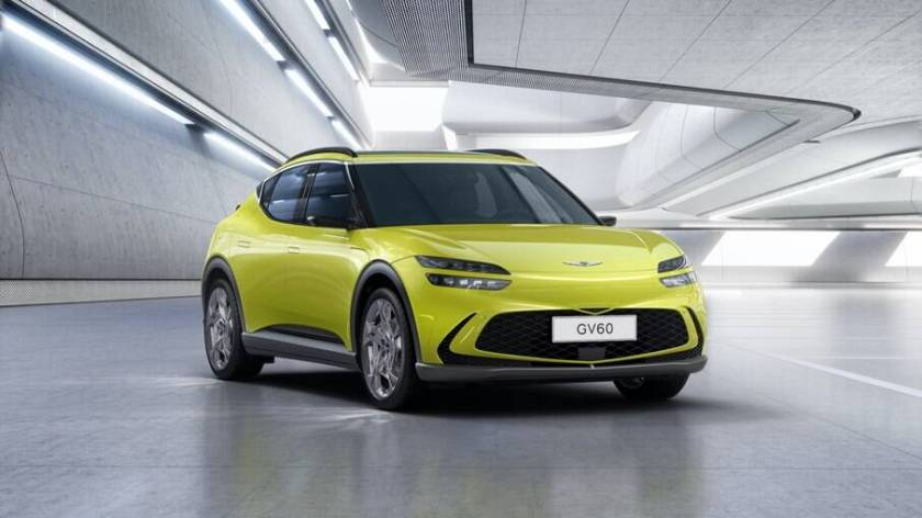 Genesis GV60 Prototype will be the first electric vehicle to use wireless wireless charging technology
